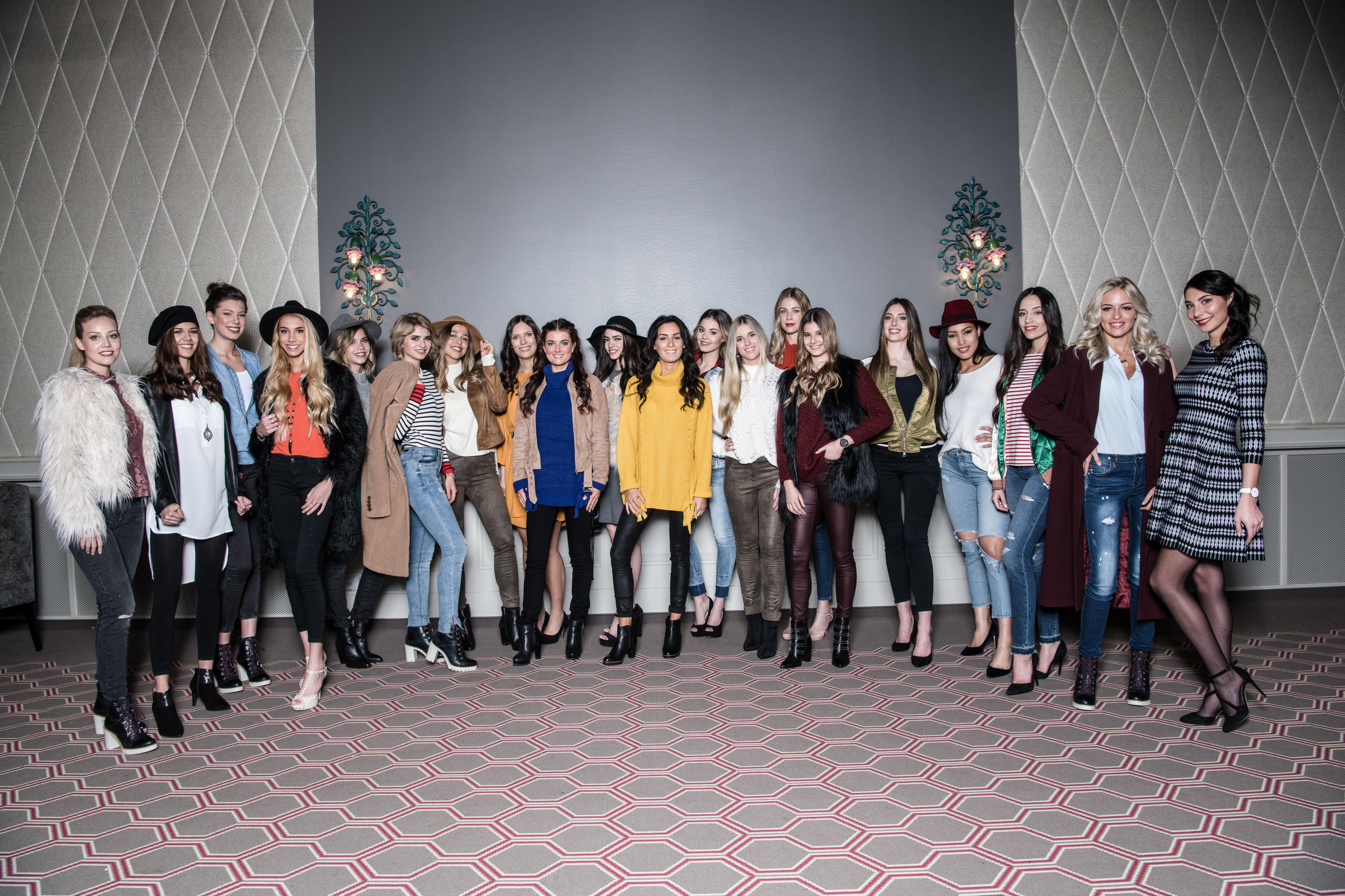 Training Miss Schweiz Kandidatinnen 2018